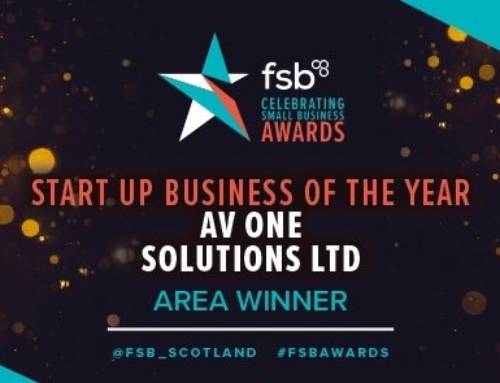 Start Up Business of the Year Winner!